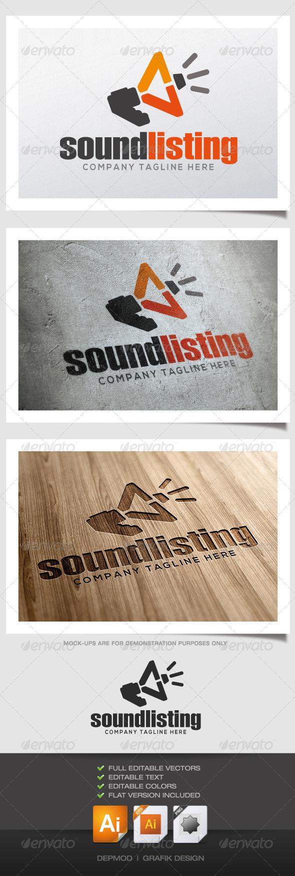 GraphicRiver Sound Listing Logo 4530927