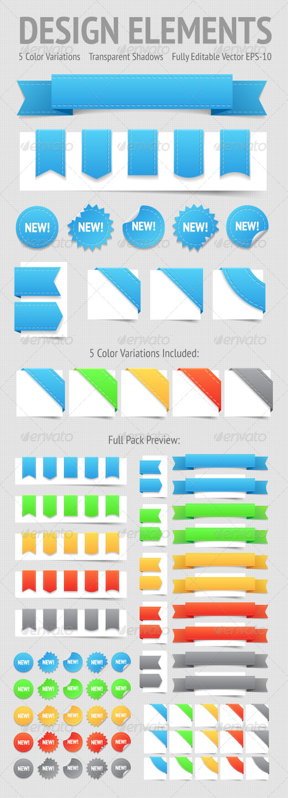 GraphicRiver Design Elements Labels 4478554