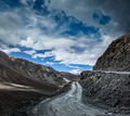 Dirt road in Himalayas. - PhotoDune Item for Sale