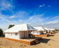 Tent camp in Thar desert. Jaisalmer, Rajasthan, India. - PhotoDune Item for Sale