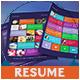 3-Piece Resume - GraphicRiver Item for Sale