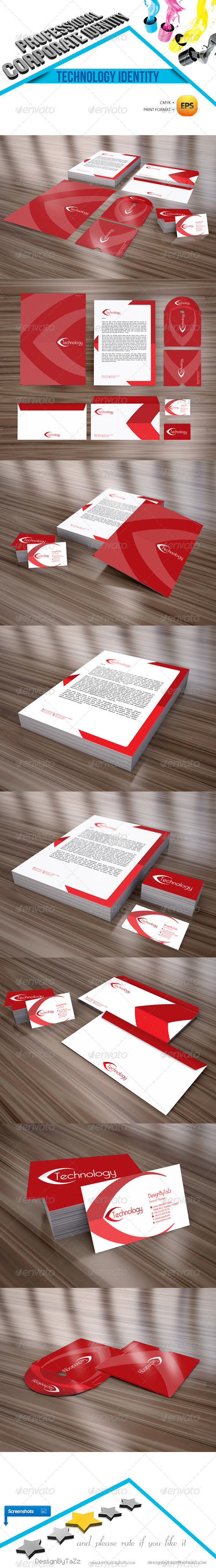 GraphicRiver Technology Corporate Identity Package 4450150
