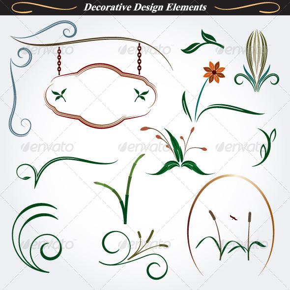 GraphicRiver Collection of Decorative Design Elements 9 4531600