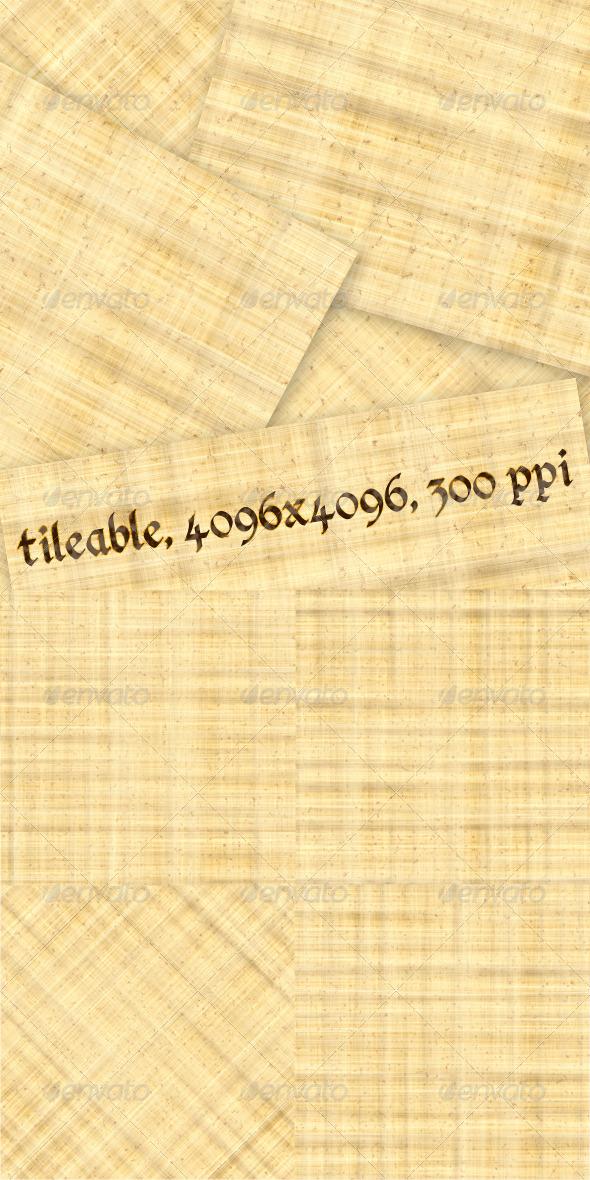 4 Papyrus Textures - Paper Textures