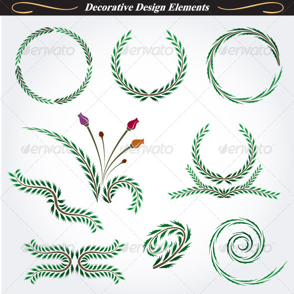 GraphicRiver Collection of Decorative Design Elements 11 4531662