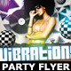 Vibrations Party Flyer Template - GraphicRiver Item for Sale