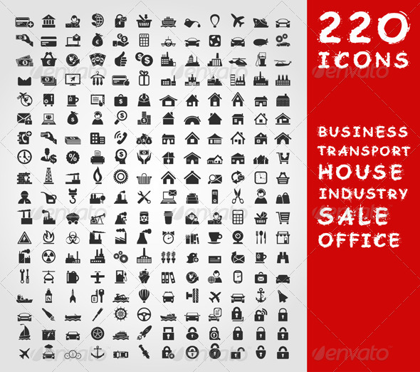 GraphicRiver Collection of Icons 2 4533339