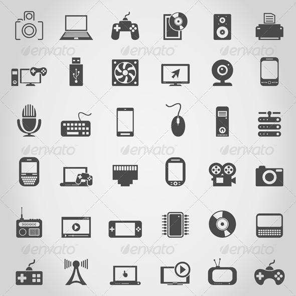 GraphicRiver Electronics an Icon 4533372