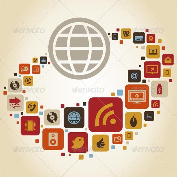 GraphicRiver Global World 7 4533389