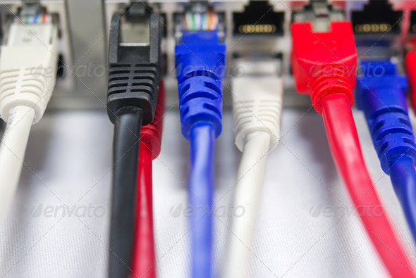 Ethernet Switch - Stock Photo - Images