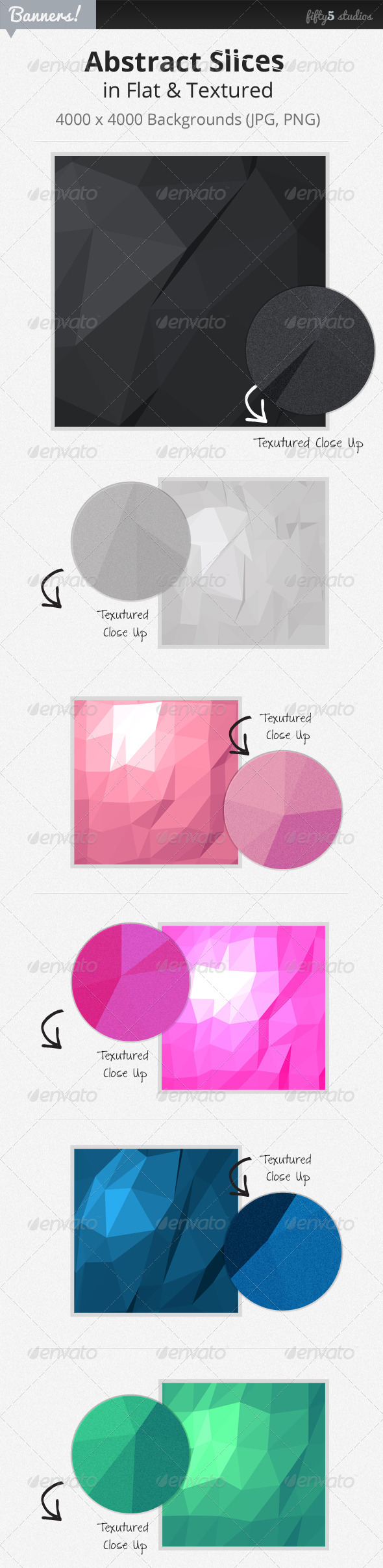 GraphicRiver 24 Abstract Slices Graphic Backgrounds 4533669