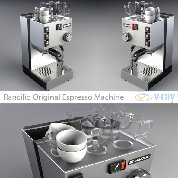 3DOcean Rancilio Original Espresso Machine 4533802