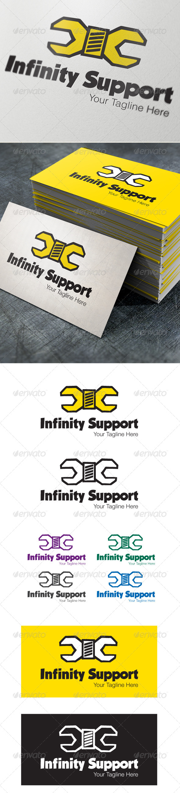 GraphicRiver INFINITY SUPPORT 4534264