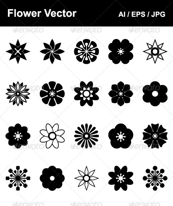 GraphicRiver Flower Vector 4534333