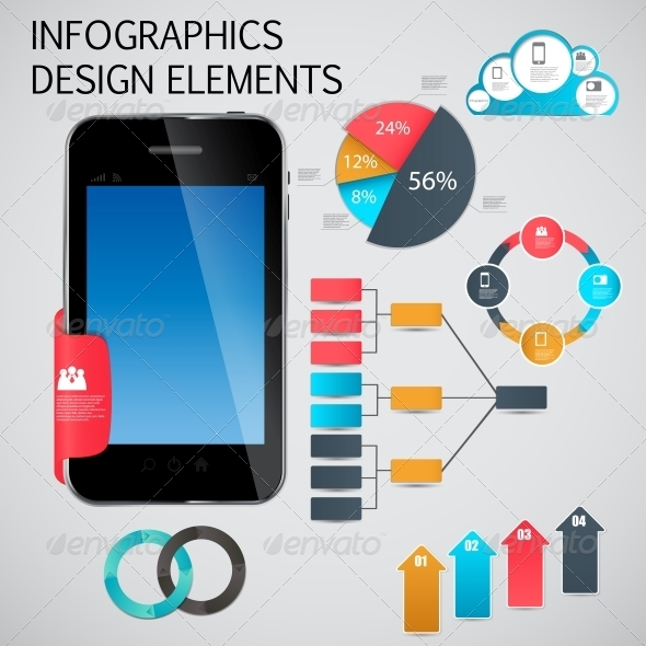 GraphicRiver Infographic Template Business Vector Illustration 4534955