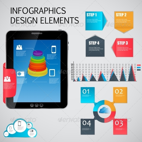 GraphicRiver Infographic Template Business Vector Illustration 4534994