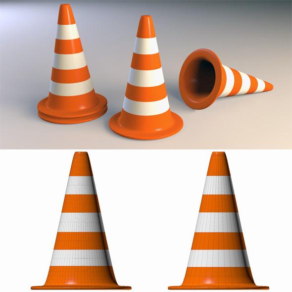 3DOcean Traffic Cone 4535297