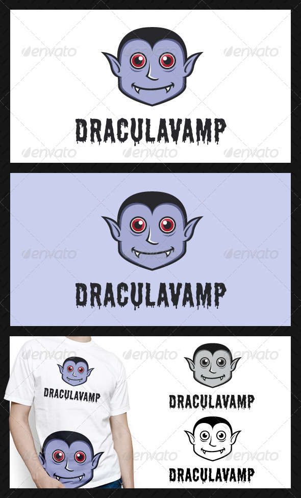 GraphicRiver Dracula Vampire Logo Template 4535400