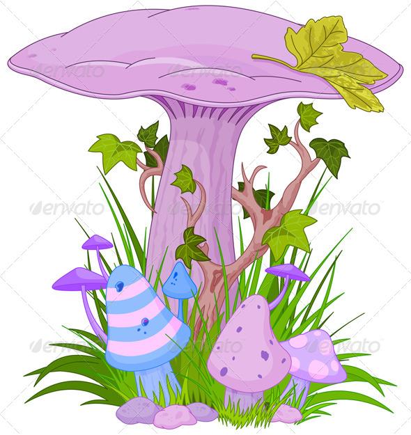 GraphicRiver Magic Mushroom 4536934