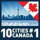 Vector City Skyline Set. Canada #1 - GraphicRiver Item for Sale