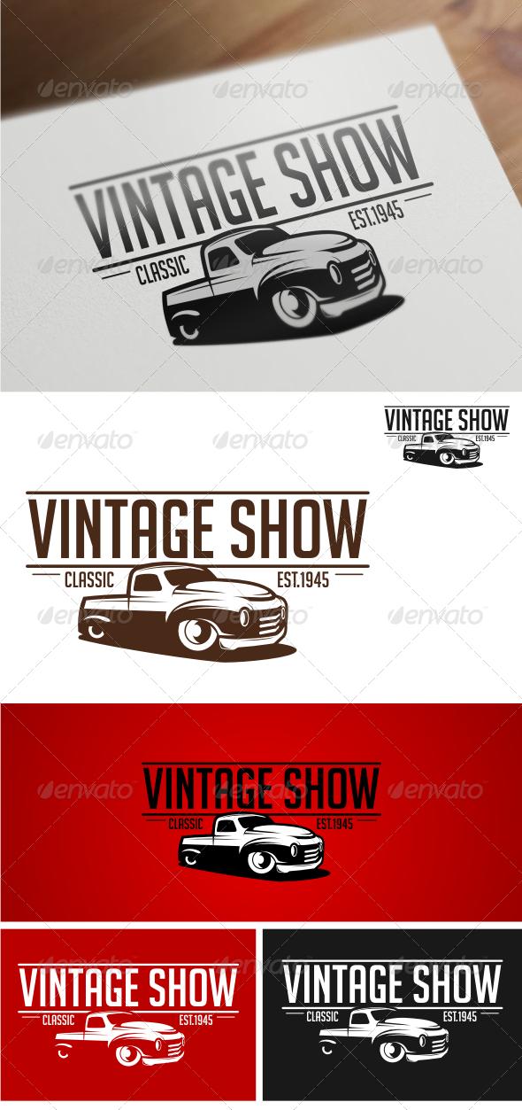 GraphicRiver Vintage Show Logo Templates 4537929