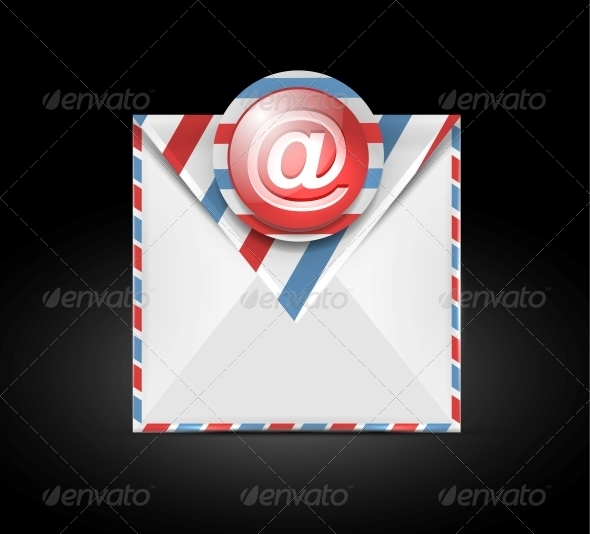 GraphicRiver Email Vector Icon 4538347