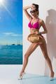 fashion girl in bikini sunbathing - PhotoDune Item for Sale