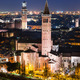 Verona skyline, night. Italy - PhotoDune Item for Sale