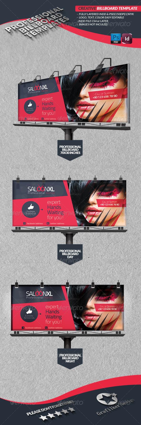 GraphicRiver Creative Studio Billboard 4182325