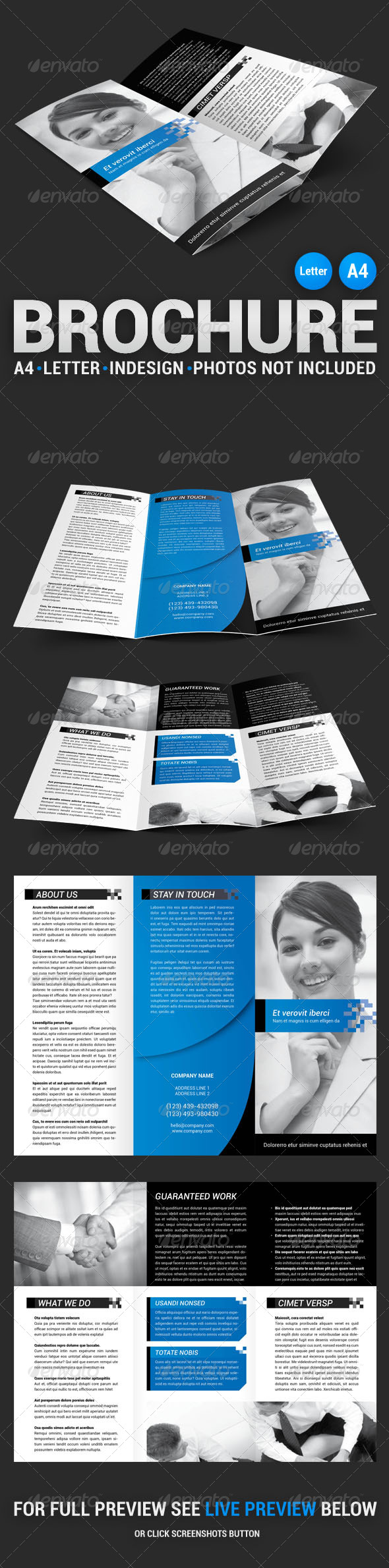 GraphicRiver Corporate Tri-fold Brochure 4539557