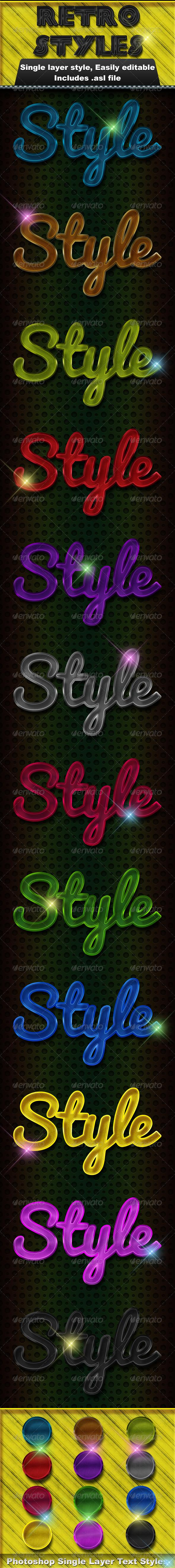 GraphicRiver Retro Styles 4540261