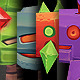 Low Poly Space Invader Set - 3DOcean Item for Sale