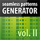 Seamless Patterns Generator II - GraphicRiver Item for Sale