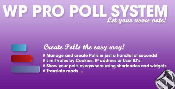 CodeCanyon WP Pro Poll System 4540652