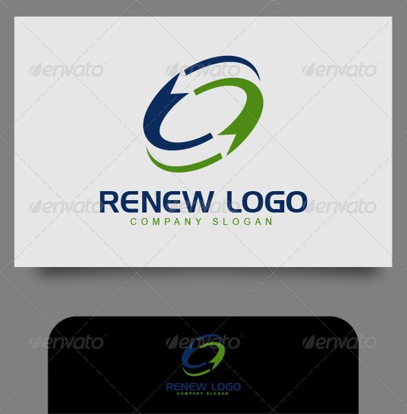 GraphicRiver Renew Logo 4541037