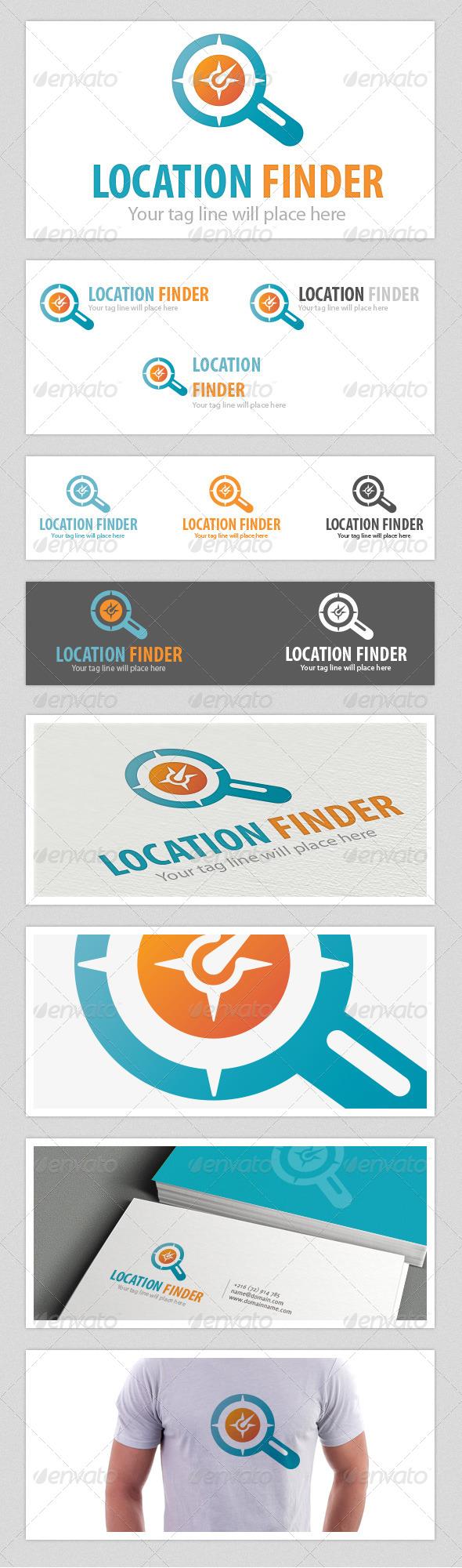 GraphicRiver Location Finder Logo 4541458