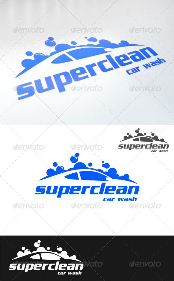 GraphicRiver car wash logo templates 4541557