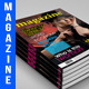 Magazine 50 Pages + 4 Bonus Covers Template