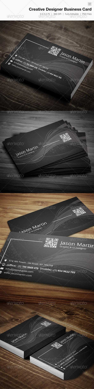 GraphicRiver Creative Designer Business Card 07 4541800