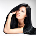 Beautiful  woman with long straight hair - PhotoDune Item for Sale