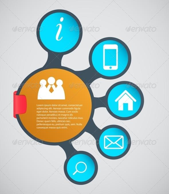 infographic template business vector illustration graphicriver. Black Bedroom Furniture Sets. Home Design Ideas