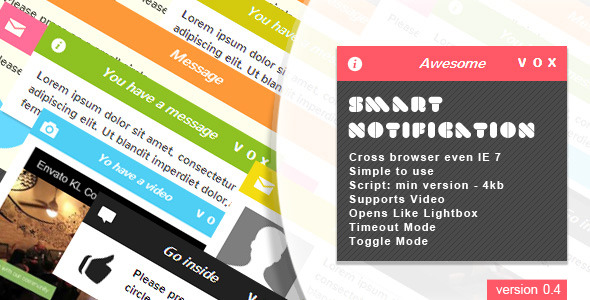 Smart Notification | jQuery Plugin - CodeCanyon Item for Sale