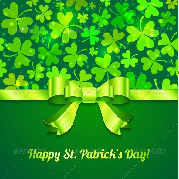 GraphicRiver Saint Patrick s Day Greeting Card 4543391