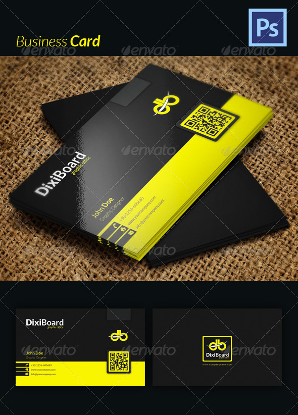 GraphicRiver Business Card 4469725