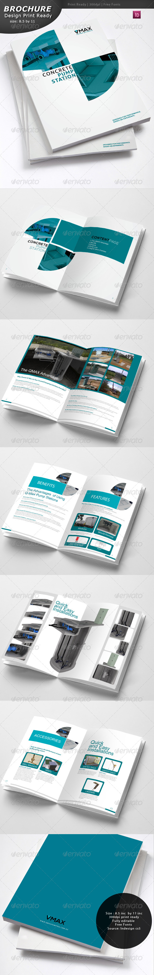GraphicRiver Brochure Design 4467008