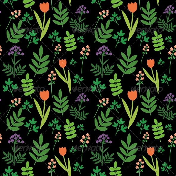 GraphicRiver Meadow Pattern 4543588