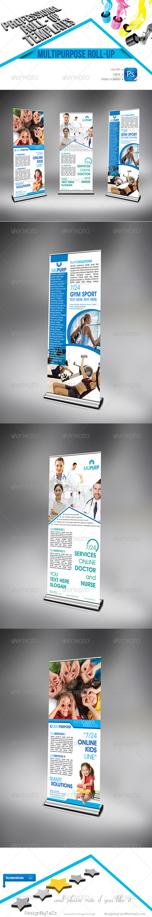 GraphicRiver Multipurpose Business Roll up 4471952