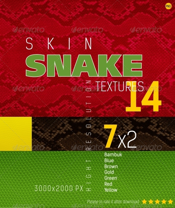 GraphicRiver Snakeskin Texture Backgrounds 4545041