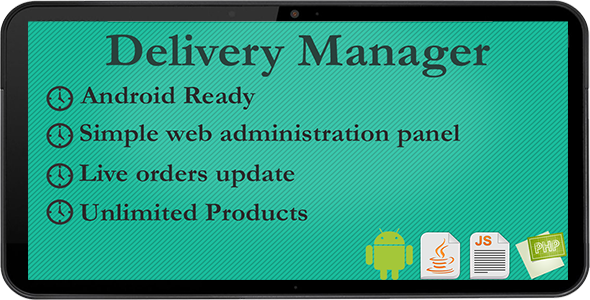 CodeCanyon Delivery Manager 4531345