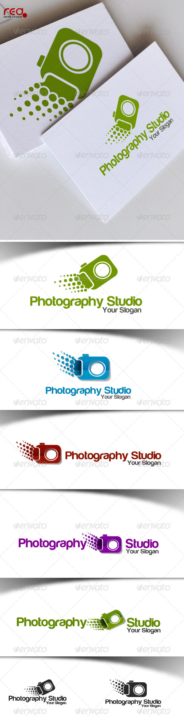 Photography Studio Logo - Vector Abstract